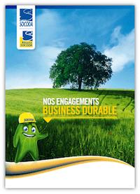 Les engagements développement durable