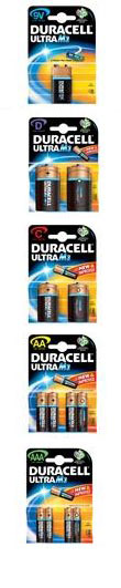 Packing Duracell
