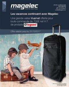 Gagnez une grande valise Vuarnet avec Magelec